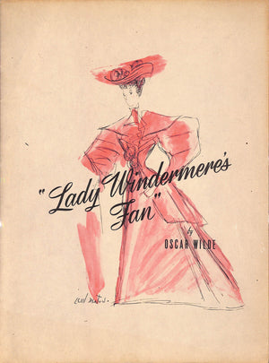 """Lady Windermere's Fan"" WILDE, Oscar"