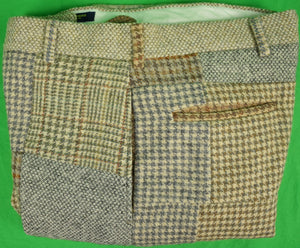 "Brooks Brothers Patchwork Tweed Trousers Sz: 34""W"