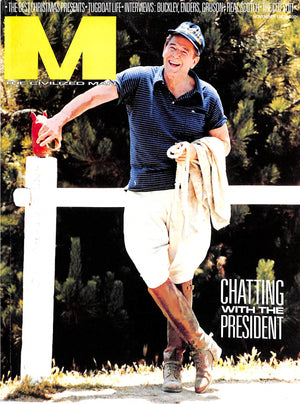 """M The Civilized Man: Chatting With The President November 1983"""