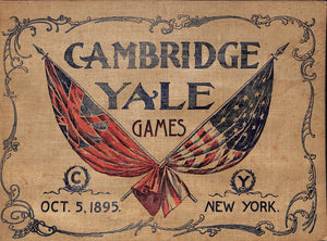 Cambridge Yale Games Oct. 5, 1895