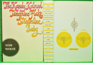 """The Kandy-Kolored Tangerine-Flake Streamline Baby"" (Signed!) WOLFE, Tom"