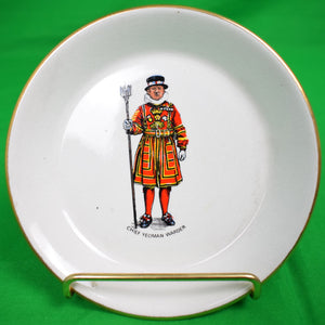 Chief Yeoman Warder H.M. Tower of London China Dish by RWL