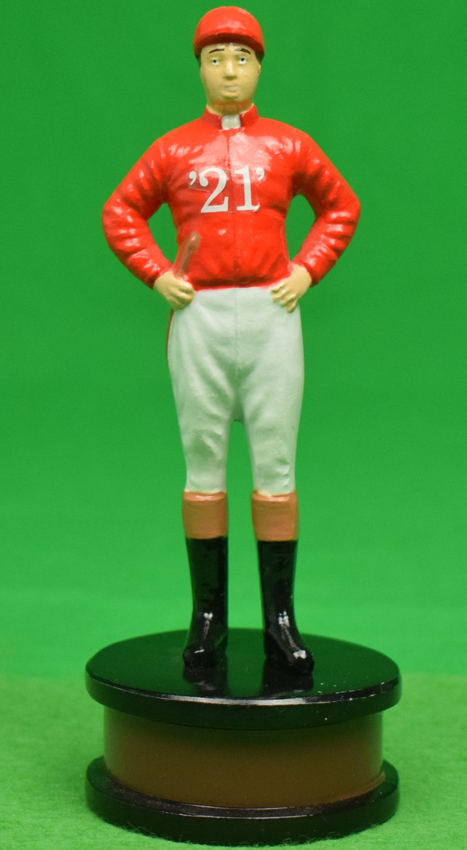 """21"" Club Jockey Bottlecap Opener (SOLD)"