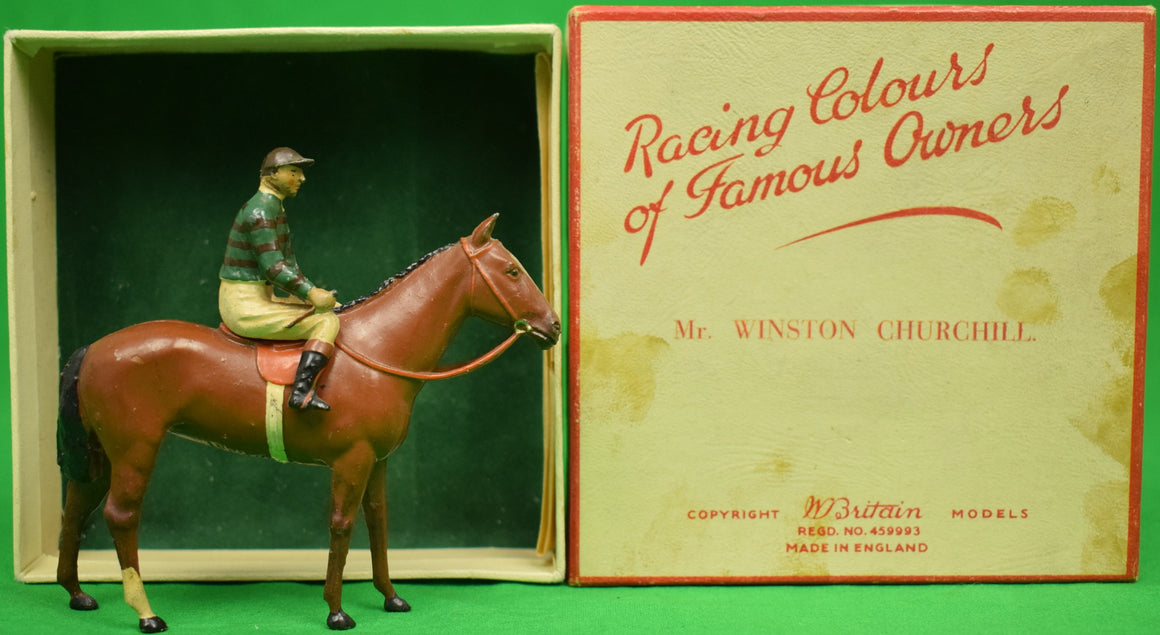Britains Racing Colours of Famous Owners: Mr. Winston Churchill