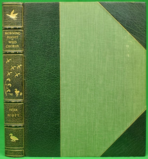 """Morning Flight A Book of Wildfowl"" 1942 SCOTT, Peter"