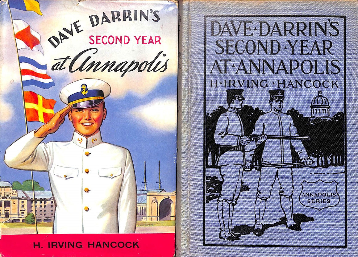 """Dave Darrin's Second Year at Annapolis"" 1911 HANCOCK, H. Irving"