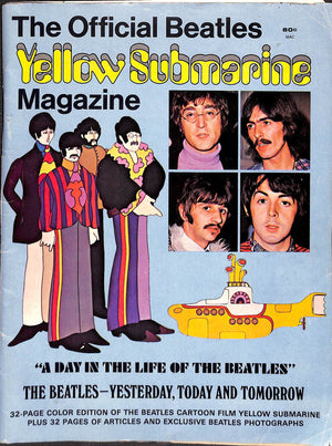 """The Official Beatles Yellow Submarine Magazine"" 1969"
