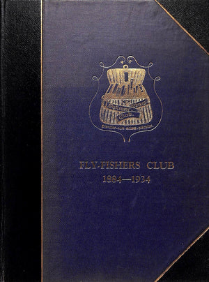 The Book of Fly-Fishers Club, 1884-1934