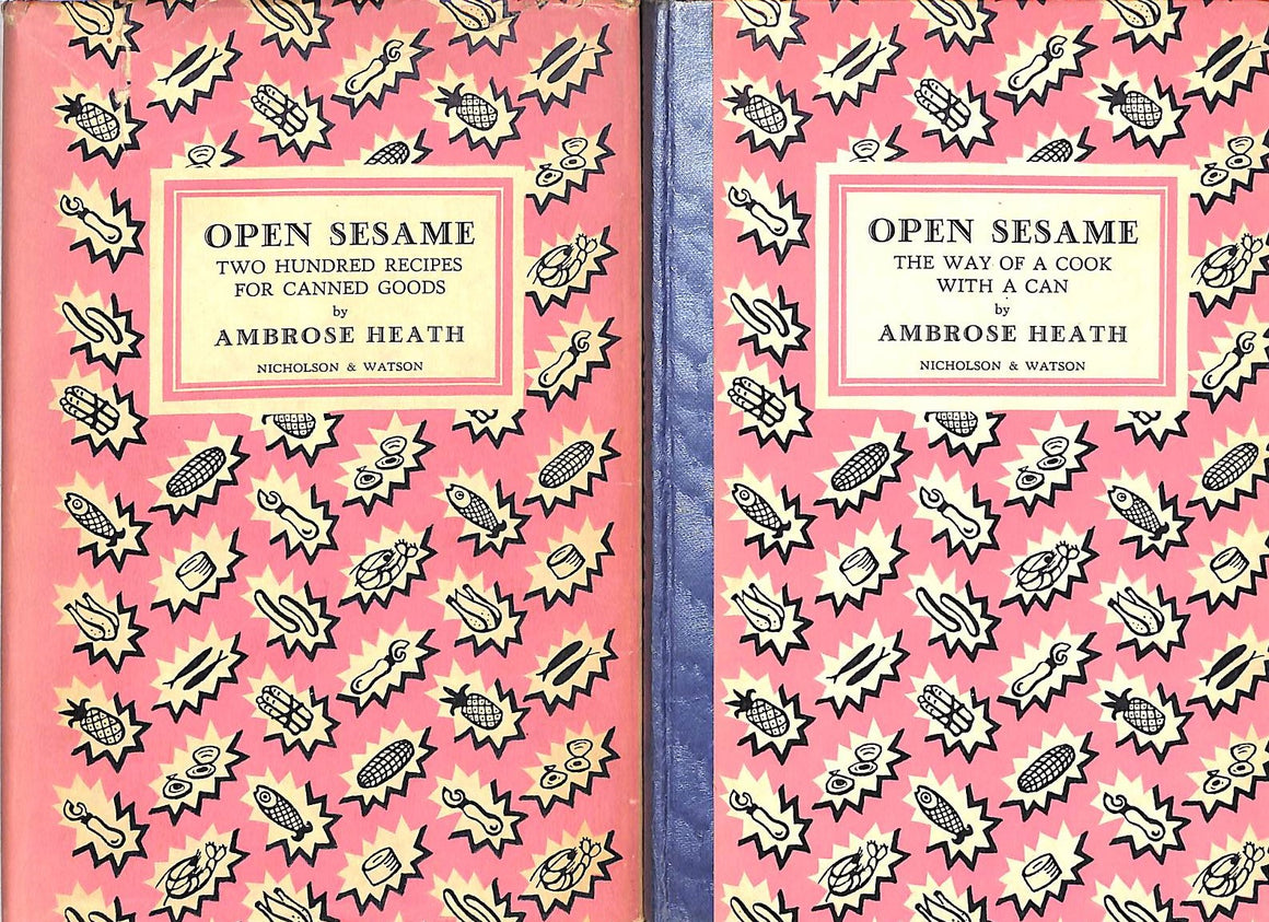 """Open Sesame: Two Hundred Recipes For Canned Goods"" 1939 by Ambrose Heath"