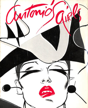 """Antonio's Girls: Antonio Lopez"" 1982 HEMPHILL, Christopher [Text by]"