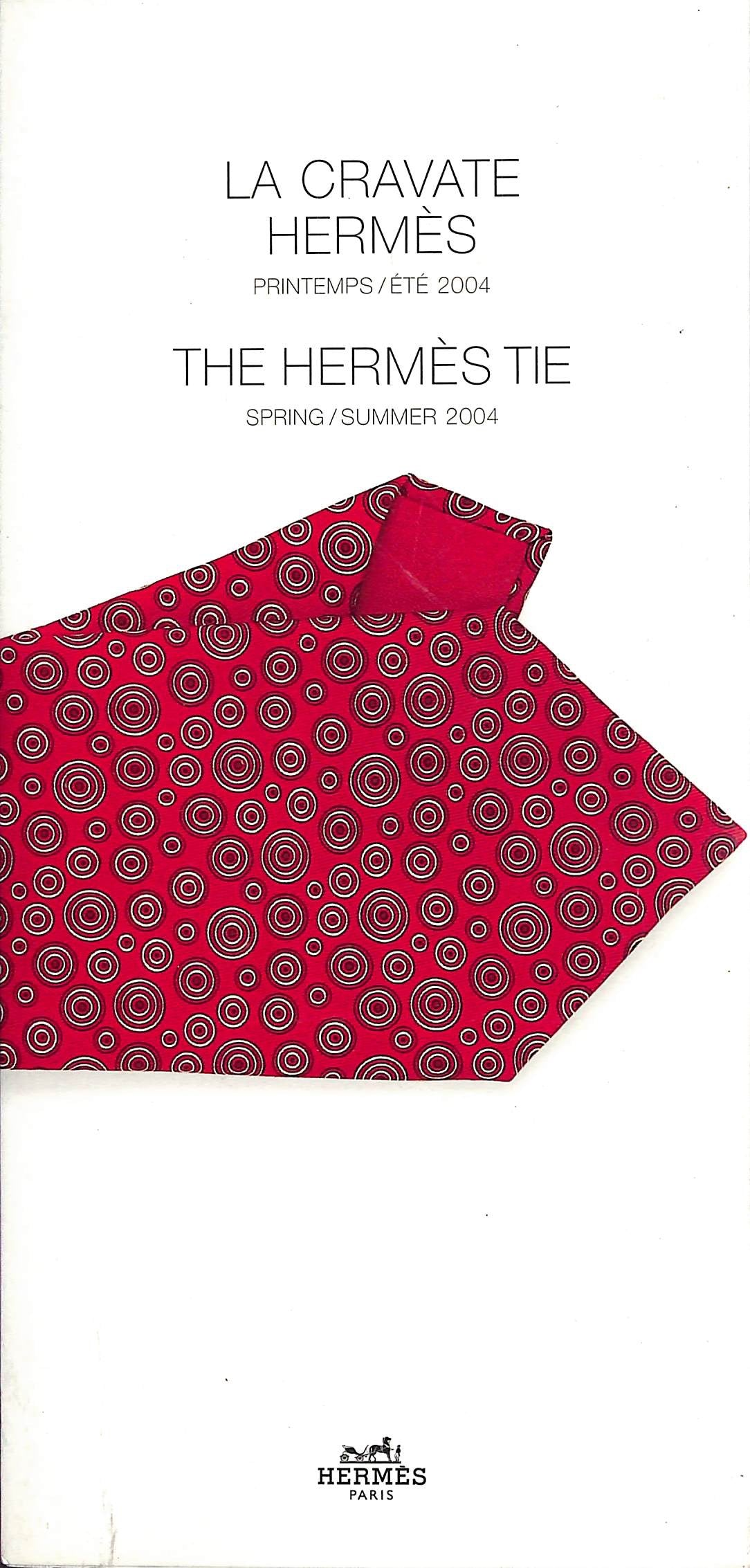 The Hermes Tie Spring/Summer 2004