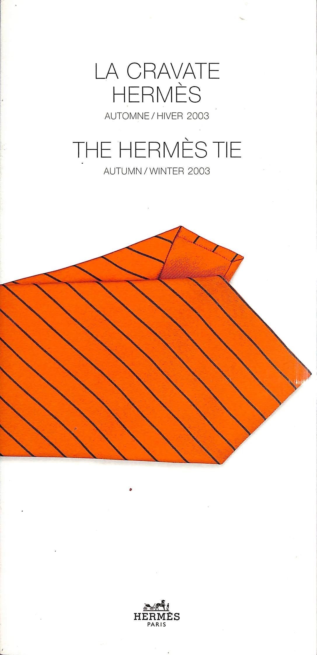 The Hermes Tie Autumn/Winter 2003
