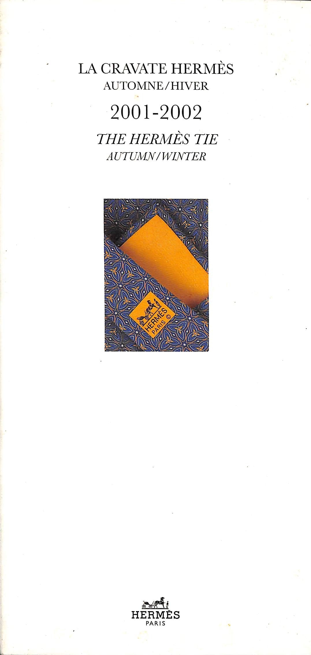 The Hermes Tie Autumn/Winter 2001-2002