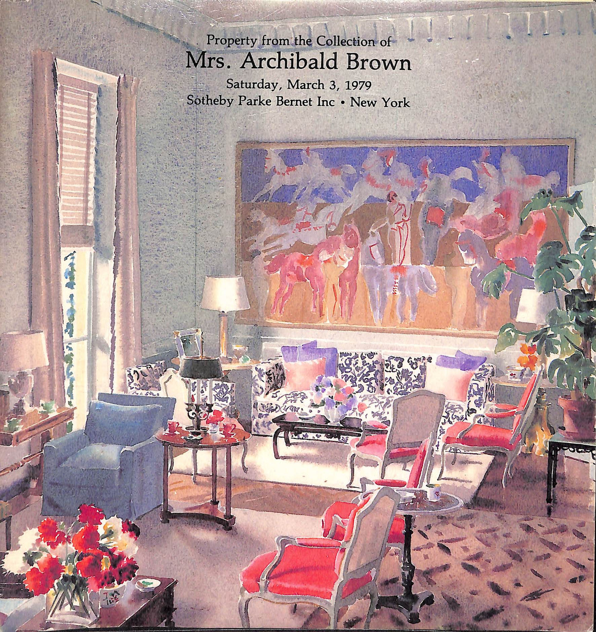 """Property from the Collection of Mrs. Archibald Brown"" 1979"