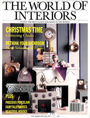 The World of Interiors December 1994