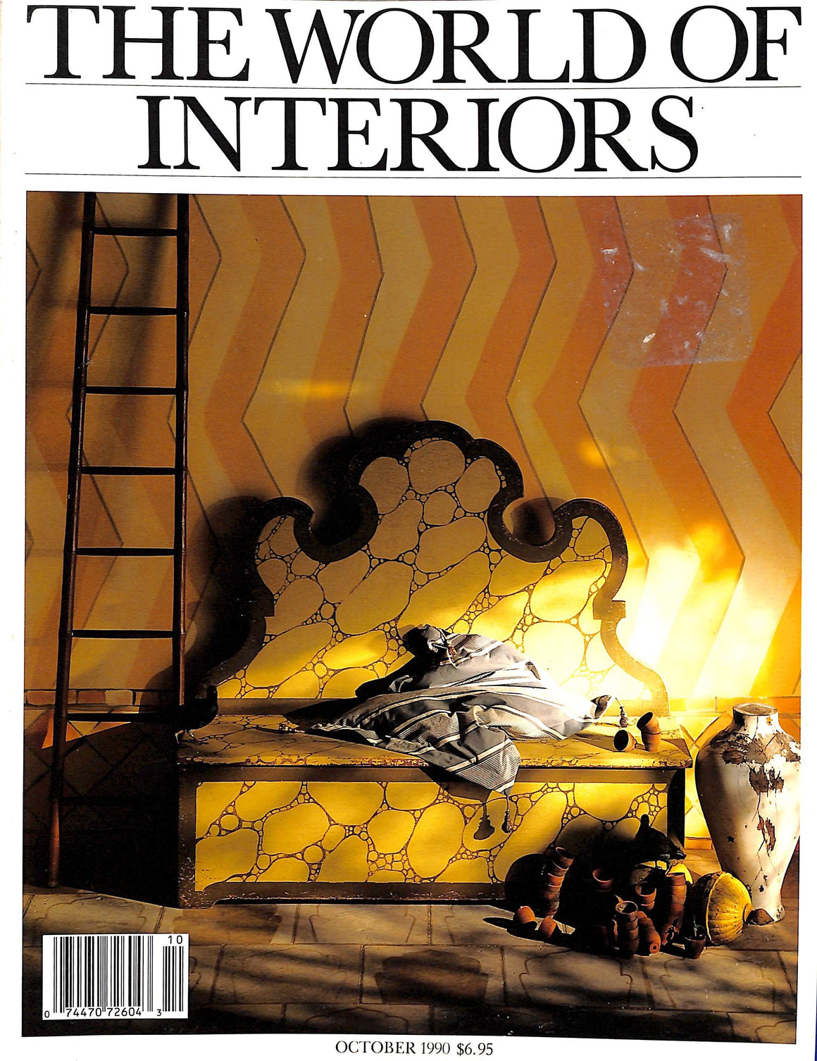 The World of Interiors October 1990