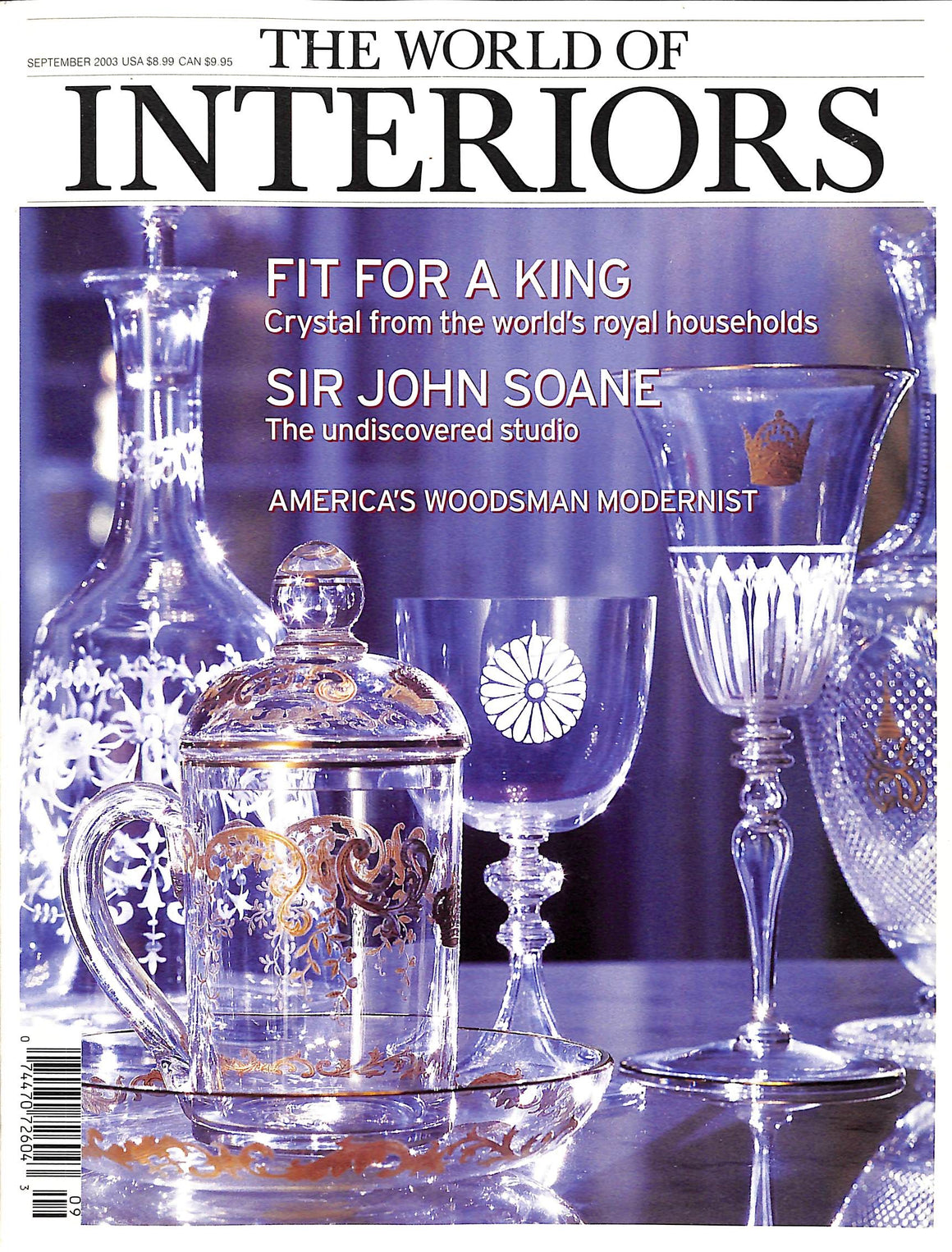 The World of Interior September 2003
