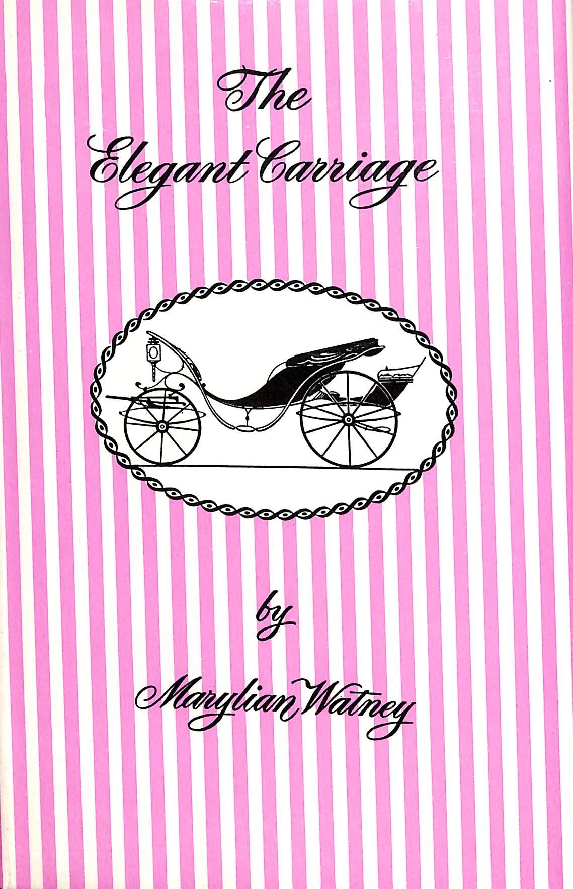 """The Elegant Carriage"" 1961 by Marylian Watney"