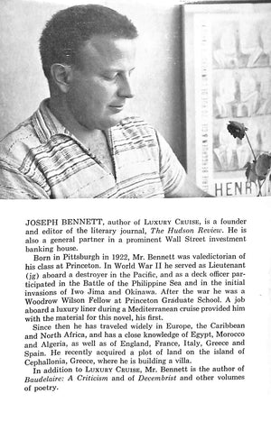 Luxury Cruise by Joseph Bennett (Inscribed!)