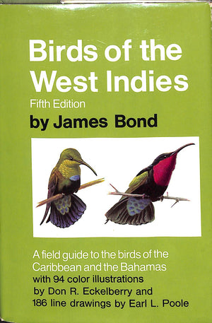 """Birds of the West Indies"" by James Bond (Sold!)"