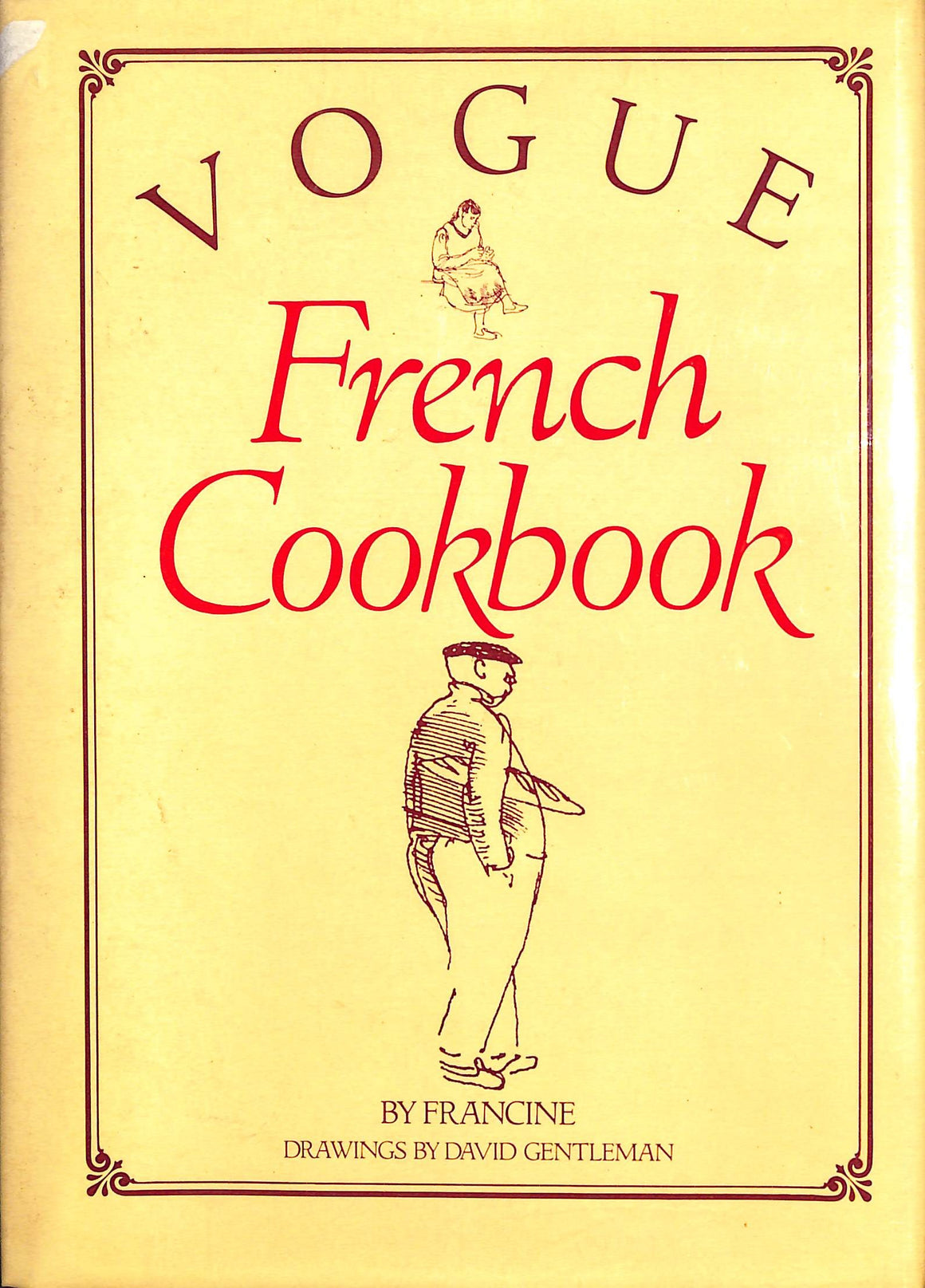 Vogue French Cookbook by 'Francine'