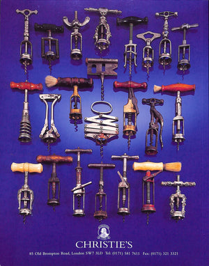 Christie's South Kens 1997, Corkscrews