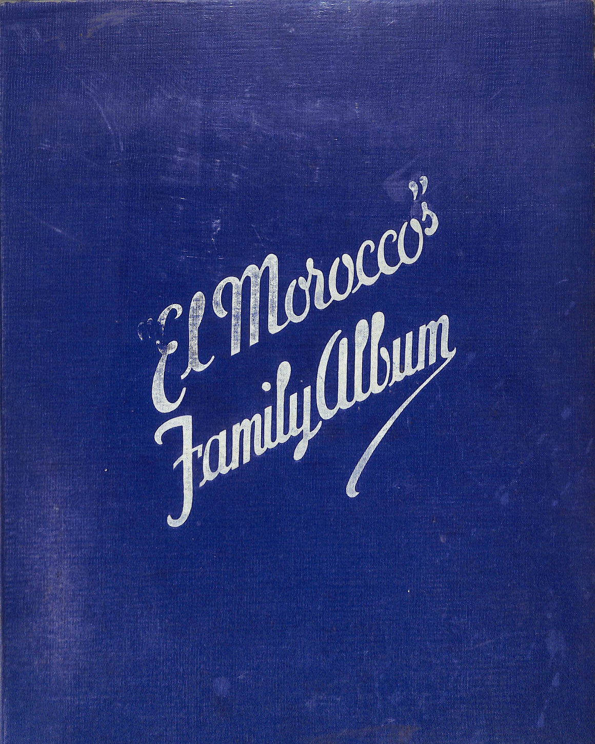 """John Perona's El Morocco Family Album"" 1937 by Zerbe, Jerome [Photography]"