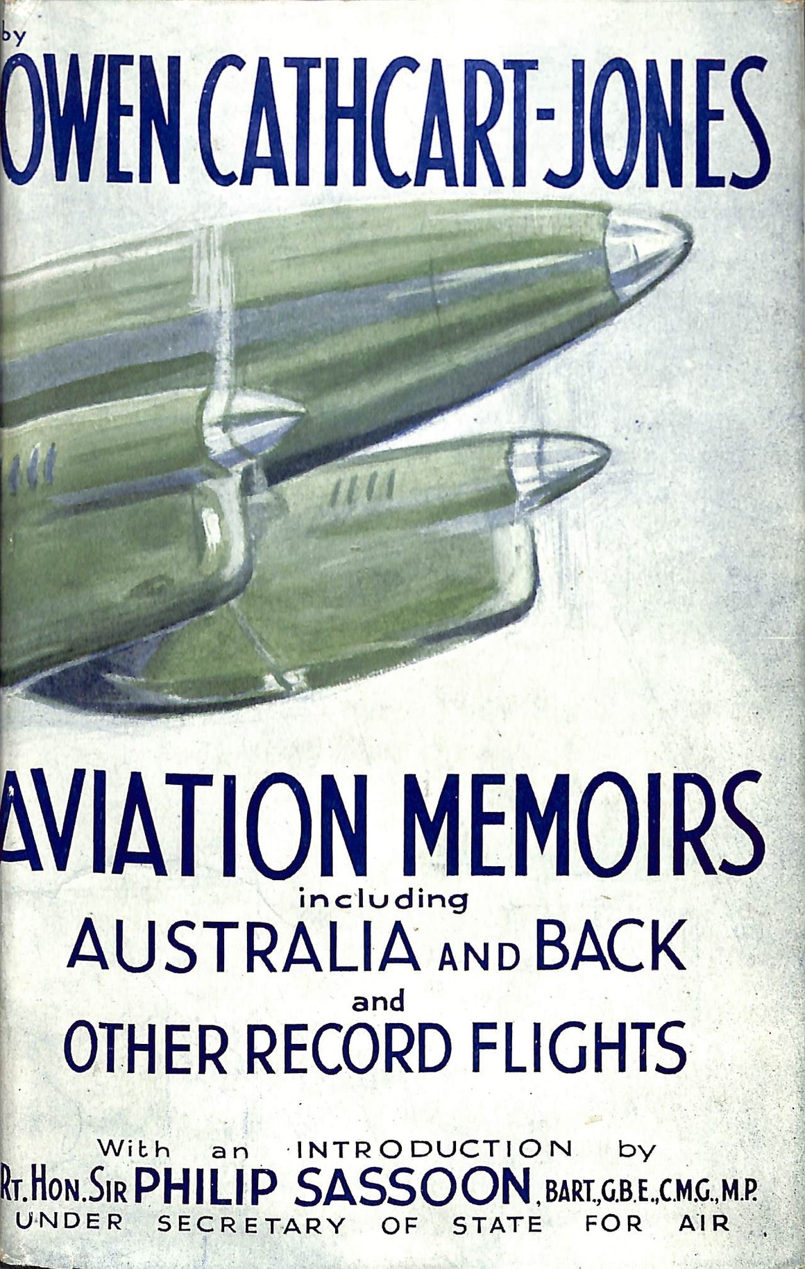 Aviation Memoirs by Owen Cathcart-Jones