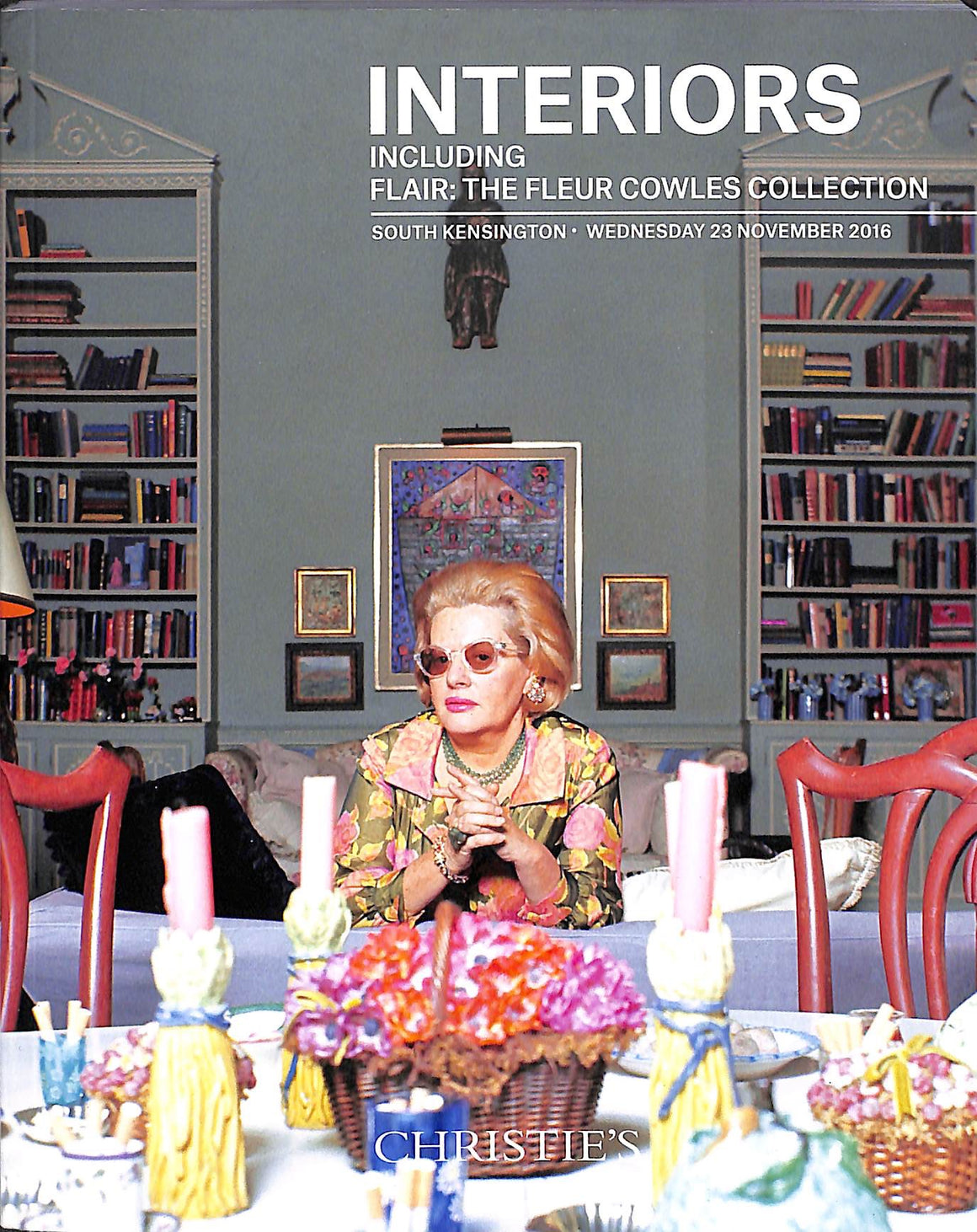 Christie's So Kens 2016, Interiors Including Flair: The Fleur Cowles Collection