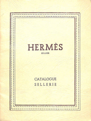 """Hermes Catalogue Sellerie"""