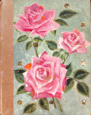 """The Book of Beauty"" 1930 w/ Cecil Beaton's Hand-Painted Rose Buds"