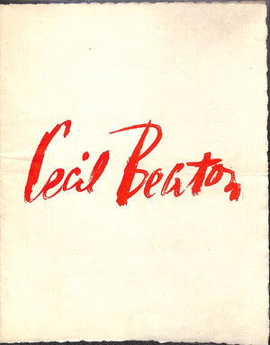 """Cecil Beaton Exhibition of Stage Designs and Sketches"" January 5th to 30th, 1937"