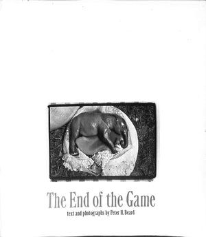 """The End of the Game: The Last Word from Paradise"" 1977 by Peter H. Beard (Sold!)"