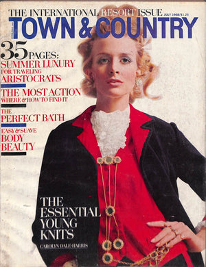Town & Country July 1968 The International Resort Issue