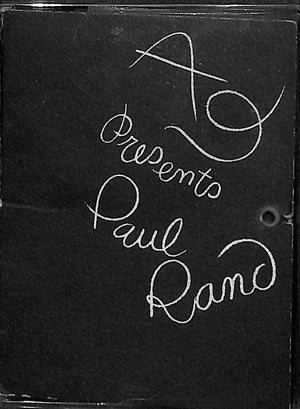A-D Presents Paul Rand
