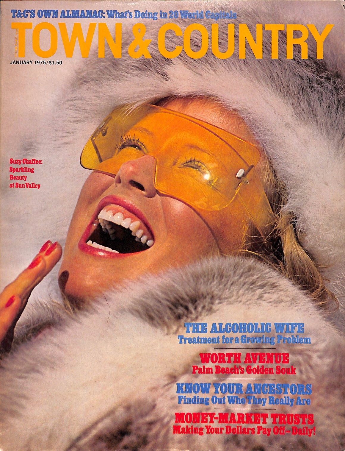 """Town & Country"" Magazine: January 1975"