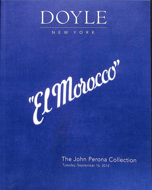 "Doyle: ""El Morocco"" The John Perona Collection - September 16, 2014"
