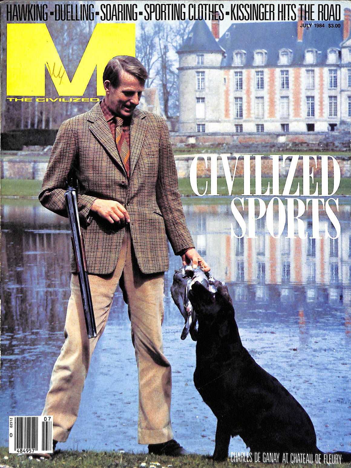 """M The Civilized Man: Civilized Sports July 1984"" (SOLD)"
