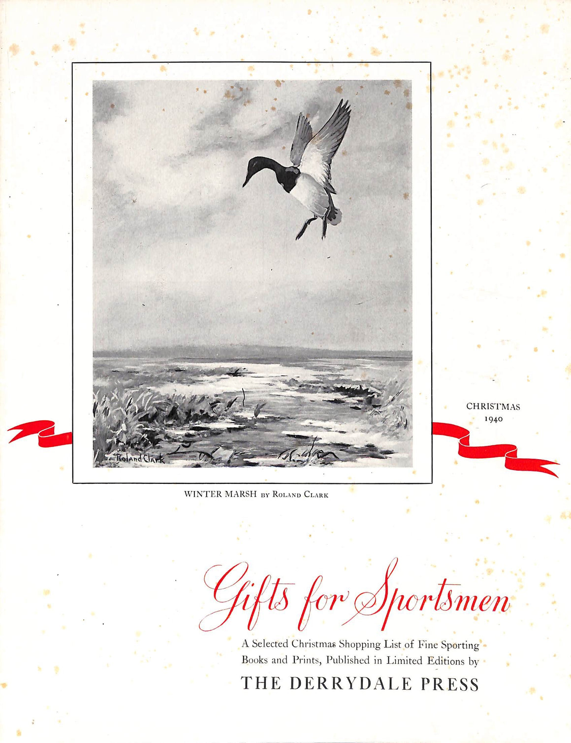 """Gifts for Sportsmen: Christmas 1940"""