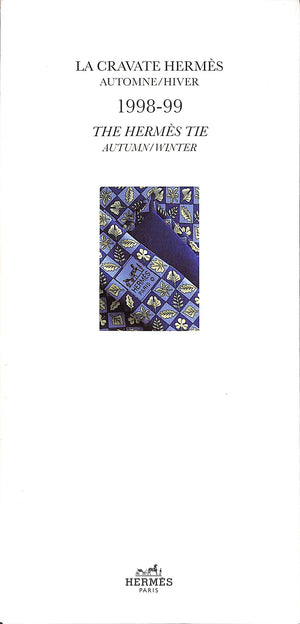 La Cravate Hermes Automne/Hiver: The Hermies Tie Autumn/Winter 1998-1999