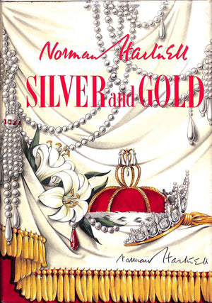 """Silver and Gold"" 1955 by Norman Hartnell (Signed!)"