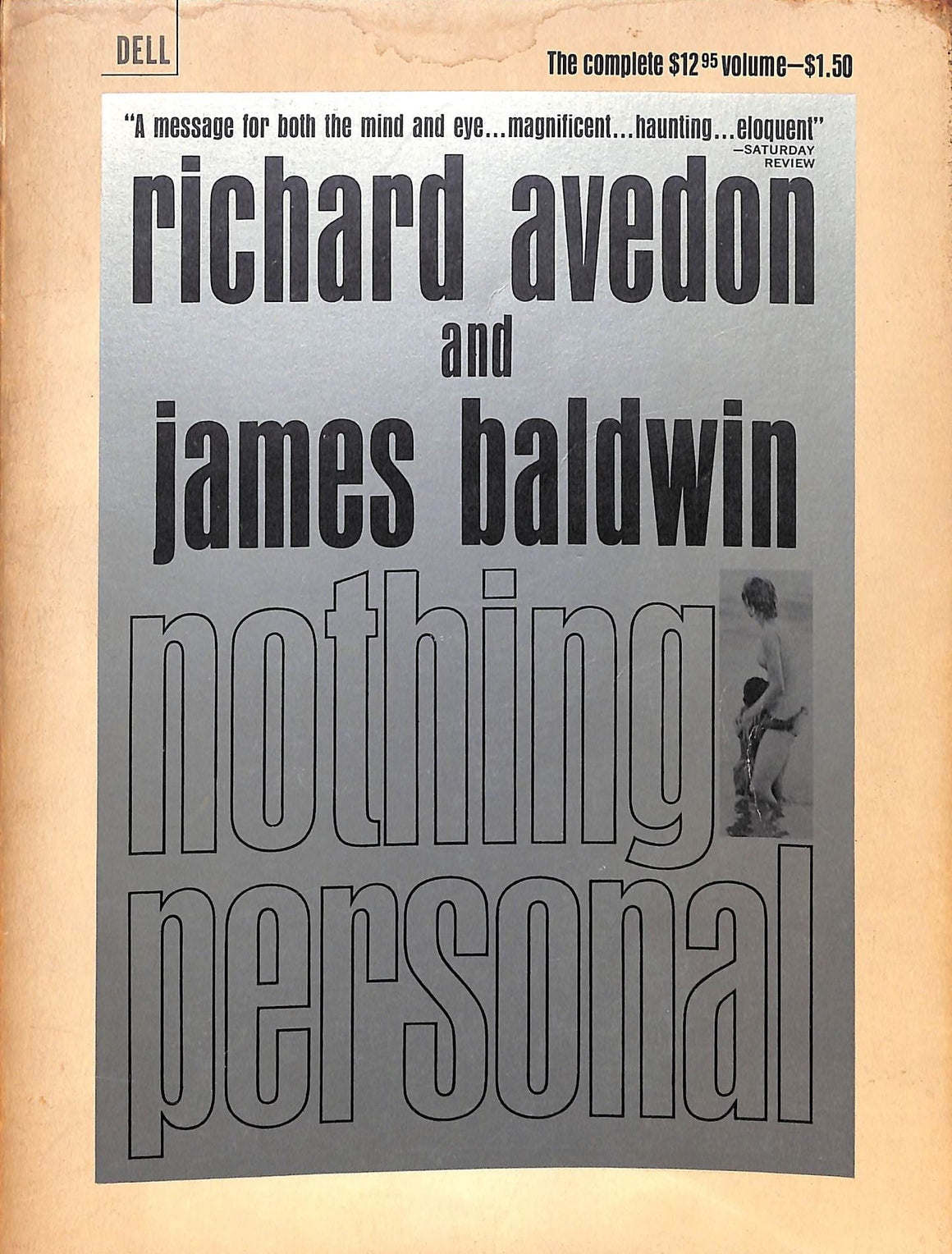 """Nothing Personal"" 1965 by Richard Avedon (Sold!)"