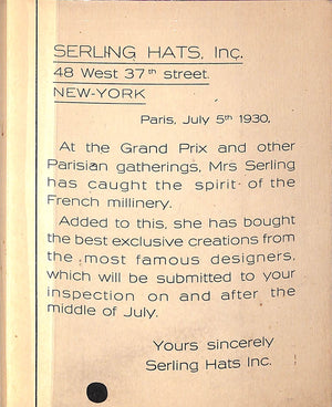 """Serling Hats"" (SOLD)"