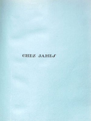 Chez James by Rose Henniker- Heaton and Duncan Swann