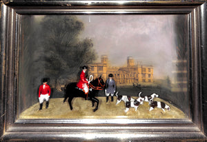 Britains Sizergh Hall, Westmorland Diorama Fox-Hunt Shadowbox