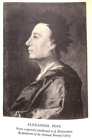 """Alexander Pope"" 1930 SITWELL, Edith"