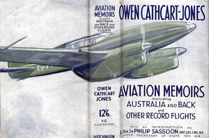 """Aviation Memoirs"" 1934 by Owen Cathcart-Jones"