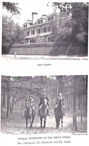 """Life and Sport In Aiken"" Smith, Harry Worcester"