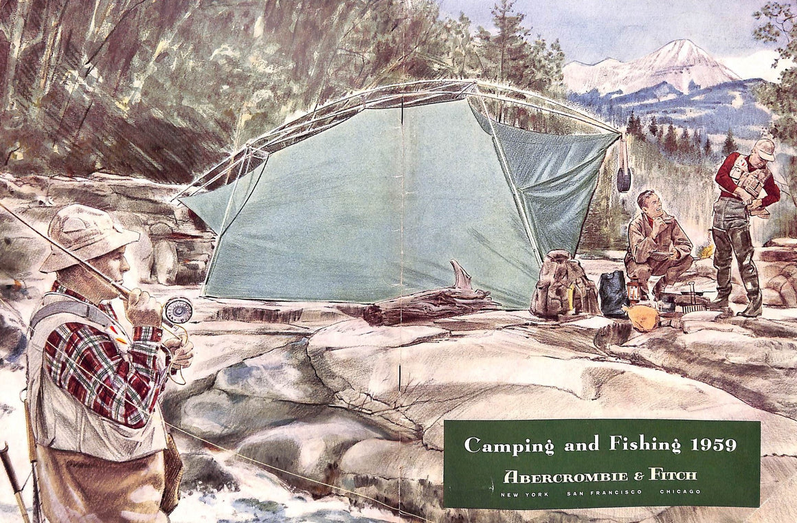 Abercrombie & Fitch 1959 Camping and Fishing Catalog (Sold!)