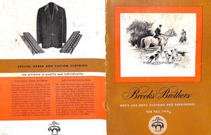 Brooks Brothers Men's And Boys' Clothing And Furnishings For Fall 1969